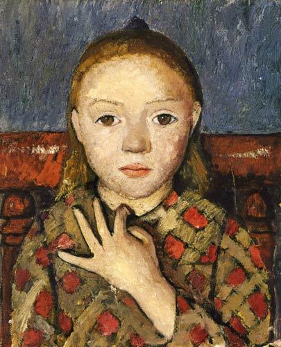 Girl Portrait 1905 PMB