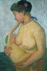 Nursing Mother, Nude, 1906 PMB
