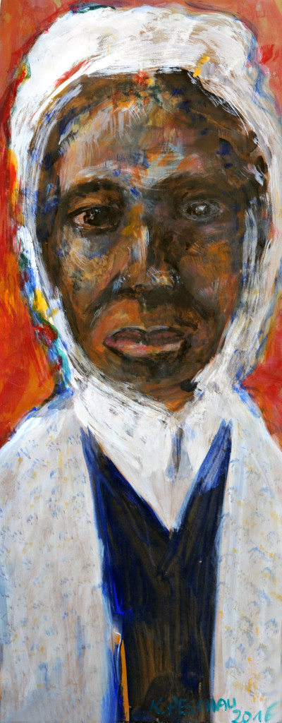 Sojourner Truth Original Painting by Karin Peschau